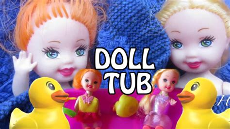 mainan boneka mattel mainan anak boneka tabung mandi mini dolls