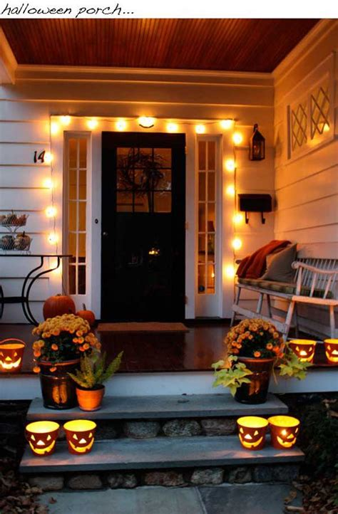 halloween front porch decorations pinterest top 41