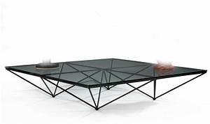 Grande Table Basse Carrée : paolo piva grande table basse carr e mod le alanda compos d 39 un r seua ~ Teatrodelosmanantiales.com Idées de Décoration