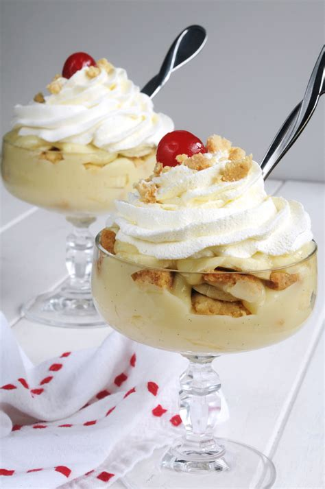 microwave banana pudding a cool dessert for a summer day