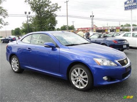 lexus is blue 2010 ultrasonic blue mica lexus is 250c convertible