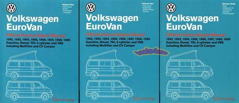 free car repair manuals 1995 volkswagen eurovan free book repair manuals eurovan shop manual service repair book volkswagen bentley vw workshop 92 99 set ebay
