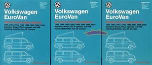 Eurovan Shop Manual Service Repair Book Volkswagen Bentley