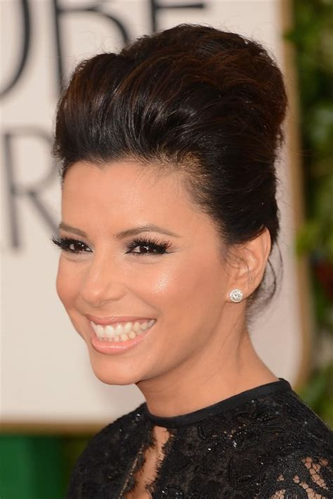Carpet Hairstyles For Hair by Longoria Golden Globe Awards 2013 Hairstyle Classic