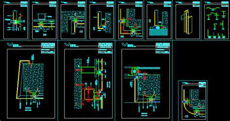 alucobond composite panel dwg detail  autocad designs cad
