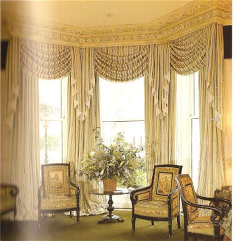 Discount Draperies And Window Coverings by D 233 Cor Etc Bay Window Treatments