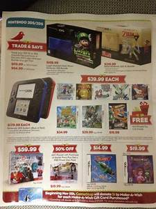 GameStop Black Friday Flyer Leaked