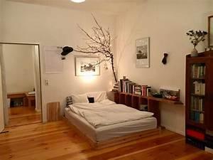 Wg Zimmer Einrichten : supersch ne wg zimmer inspiration mit gro em bett und ~ Watch28wear.com Haus und Dekorationen