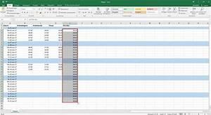 Excel Uhrzeiten Berechnen : arbeitszeiterfassung in excel bersichtliche arbeitszeittabellen erstellen ~ Themetempest.com Abrechnung