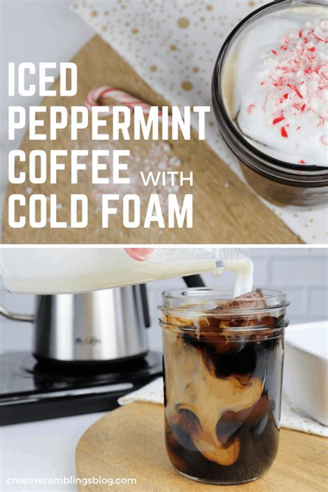 Pourover coffee starts with (freshly) ground coffee, a filter, and a filter holder, often called a 'pourover dripper.' at the most basic level, pourover brewing involves pouring water over and through the grounds to extract the coffee. Iced Peppermint Coffee with Cold Foam   Recipe   Slow cooker desserts, Coffee recipes, Hot ...