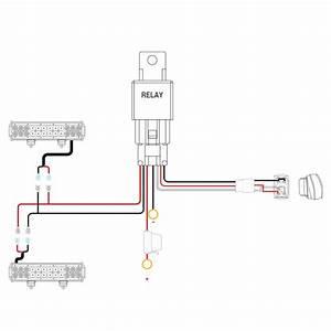 nilight ni wa 07 led light bar wiring harness kit With wiring harness kit for led lights