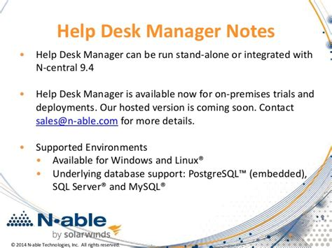 solarwinds web help desk admin guide 100 solarwinds help desk database how to restrict