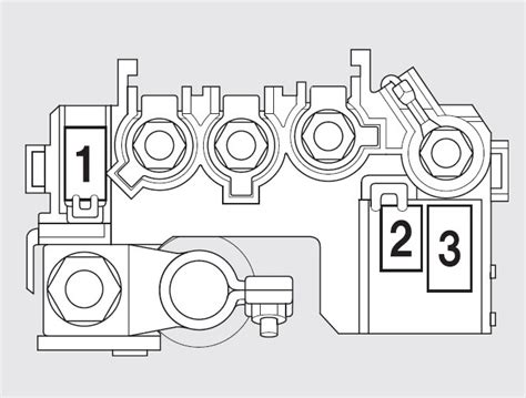 2009 Honda Fit Fuse Box by Honda Fit 2009 2010 Fuse Box Diagram Auto Genius