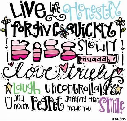 Melonheadz Happy Words Clip Clipart Illustrating Journal