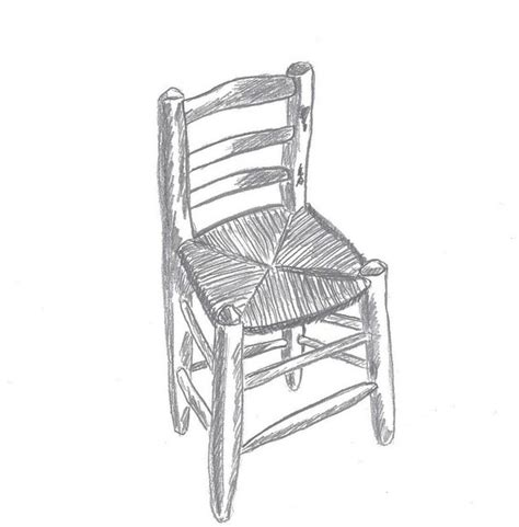 comment dessiner une chaise chaise dessin sellingstg com