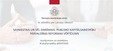 Konferencē 10. novembrī vērtēs publisko kapitālsabiedrību ...