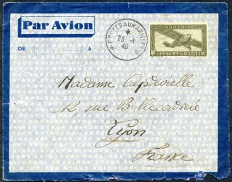 bureau cts strasbourg courrier philatélie histoire postale de l 39 indochine