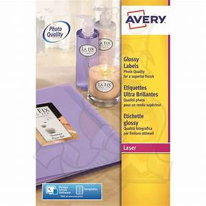 avery glossy labels 139x99mm l7769 40 160 labels label With avery glossy stickers