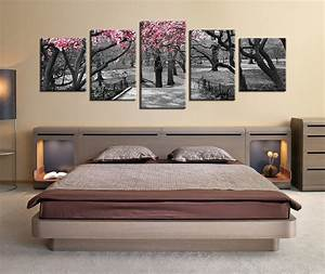 bedroom canvas wall art home design With best brand of paint for kitchen cabinets with create your own 5 piece canvas wall art
