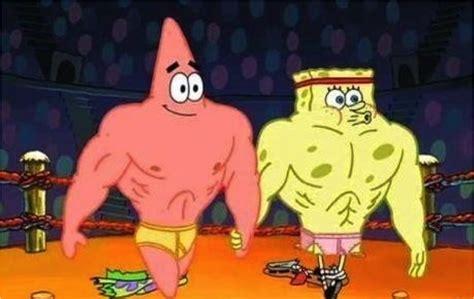 spongebob characters   totally win joes bikini
