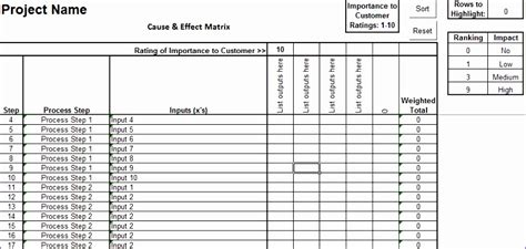 process mapping template excel exceltemplates