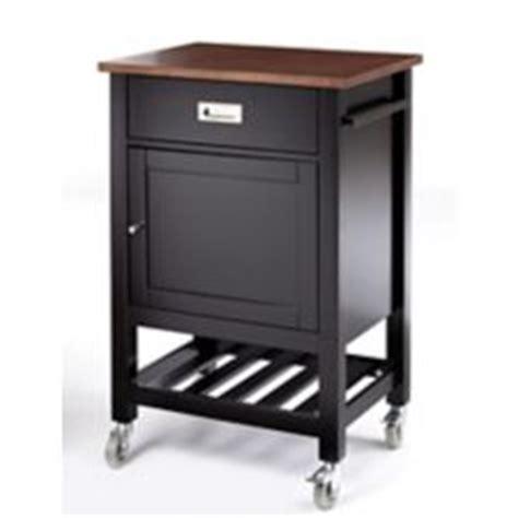 Canvas Elwood Kitchen Cart, Black  Canadian Tire
