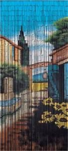 Vorhang Für Terrassentür : wenko 5123101500 bambus vorhang toskana klappbar 90 x ~ Watch28wear.com Haus und Dekorationen