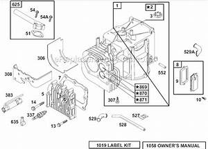 Briggs And Stratton 133702 Parts List And Diagram
