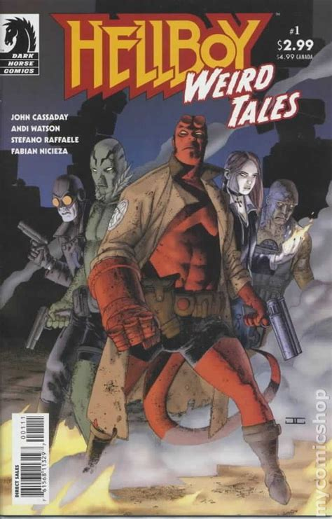 hellboy weird tales  comic books