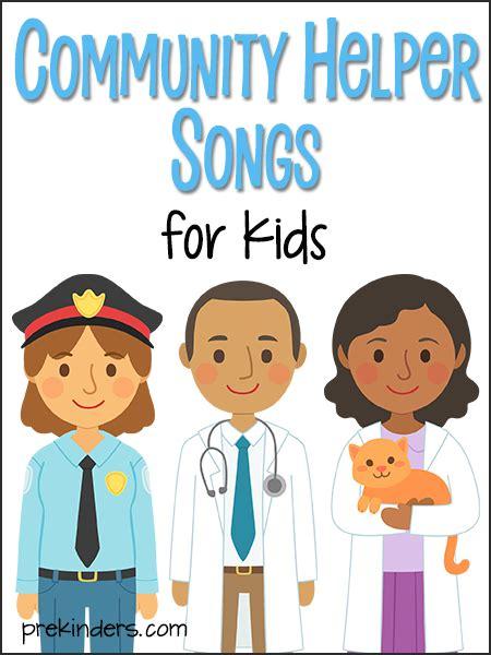 community helper songs for prekinders 701 | community helper songs