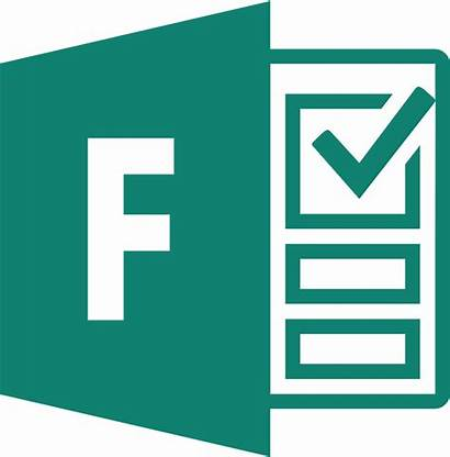 Microsoft Forms Office Icon Clipart Ms Software