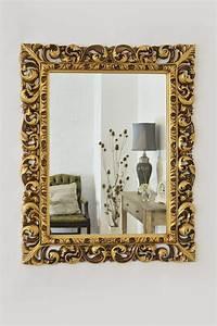 Miroir Deco Salon : grand miroir dor id es pour une d coration int rieur ~ Melissatoandfro.com Idées de Décoration
