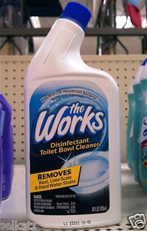 works toilet bowl cleaner  stuff   bomb