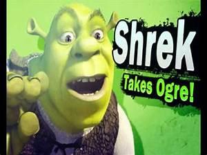 Shrek Reveal Trailer Super Smash Bros 4 YouTube