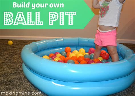 {build Your Own} Ball Pit