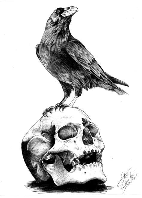 The Raven By Edgar Allan Poe By Shuranegro On Deviantart