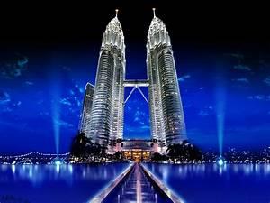 Full HD 1080p Petronas Twin Towers Wallpapers HD, Desktop ...