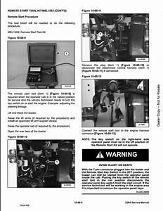 Bobcat S205 Skid Steer Loader Service Repair Workshop