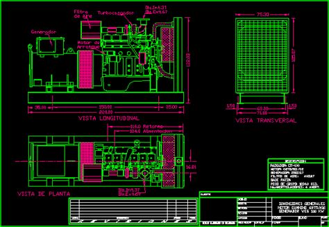 electrical generator dwg block  autocad designs cad