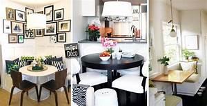 Amenager une petite salle a manger voici 43 idees for Amenager une salle a manger