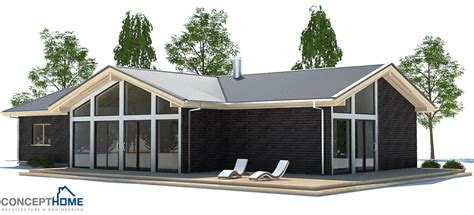 House Plans With Vaulted Ceilings by Small House Plan Ch192 With Vaulted Ceiling Small Home