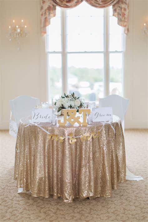 natural glam white  gold wedding