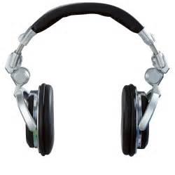 DJ Headphones Cartoon