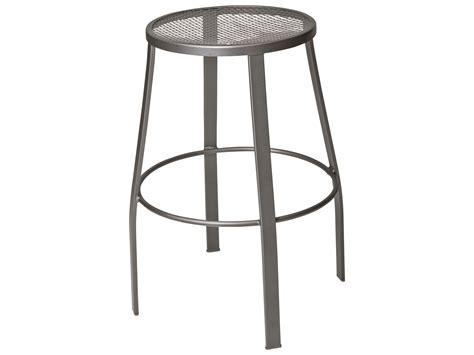 iron counter stools woodard mesh seat bar stool 470281 1928