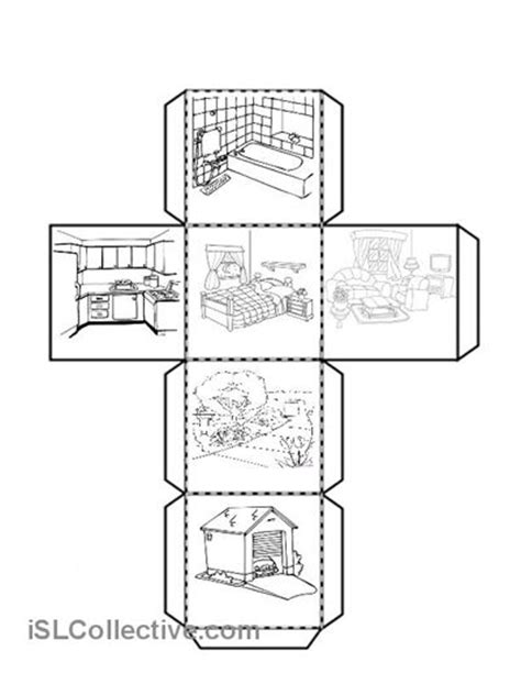 images  rooms   house worksheet  pre