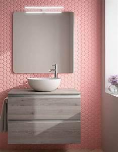 Revetement Mural Salle De Bain : 25 best ideas about pink bathroom tiles on pinterest ~ Edinachiropracticcenter.com Idées de Décoration