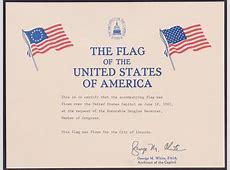 Template Design Military Flag Certificate Template