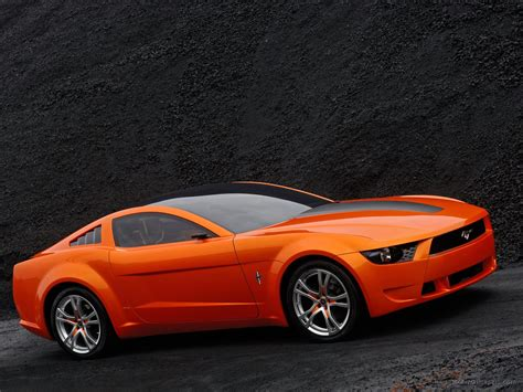 Ford Mustang Concept by Ford Mustang Giugiaro Concept Wallpaper Hd Car