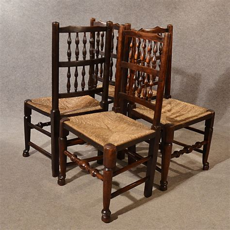 antique kitchen dining chairs lancashire spindle