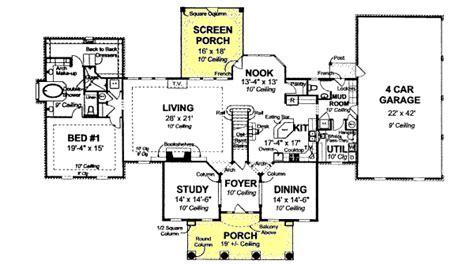 Greek Revival Style House Plans